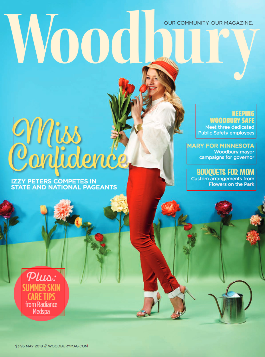 Woodbury magazine cover May 2018 photo by Joel Schnell